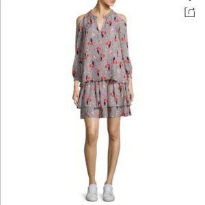 10Derek Crosby Lamb 2 Piece Smocked Silk Top&Dress